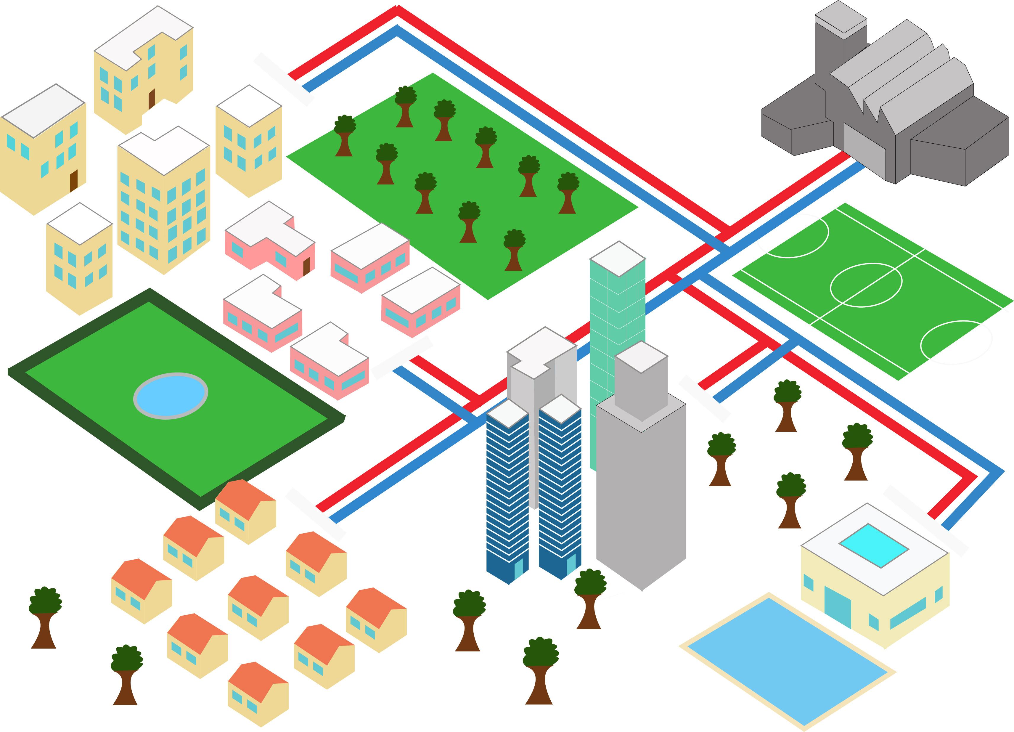 Amo d l gation de service public chauffage urbain pure for Tarif chauffage urbain metz